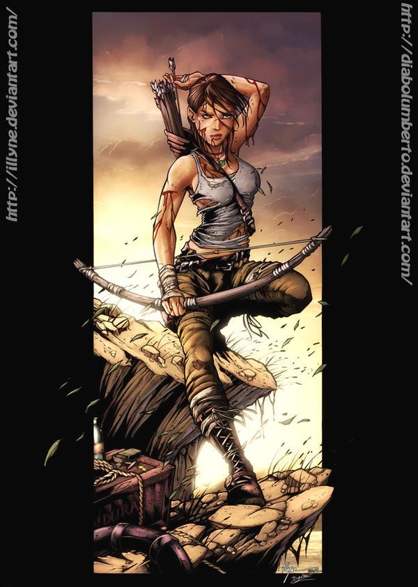 Tomb Raider - Survivor- Contest by diabolumberto