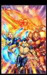Ultimate Xmen Fantastic Four