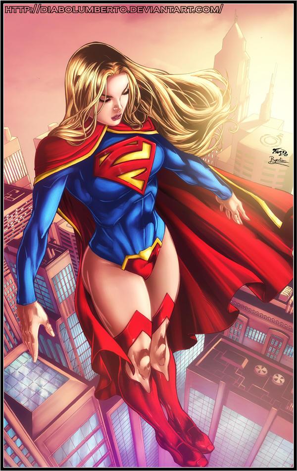 Supergirl by diabolumberto