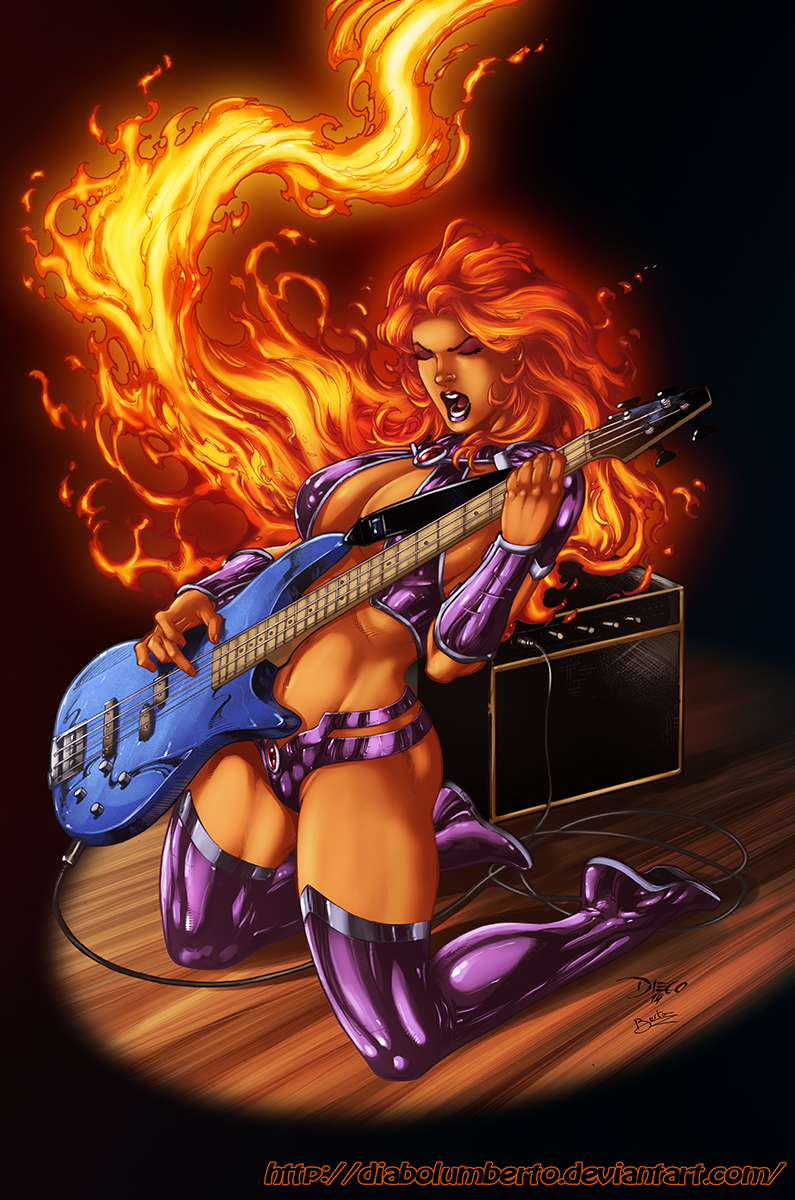 Starfire Bass by diabolumberto