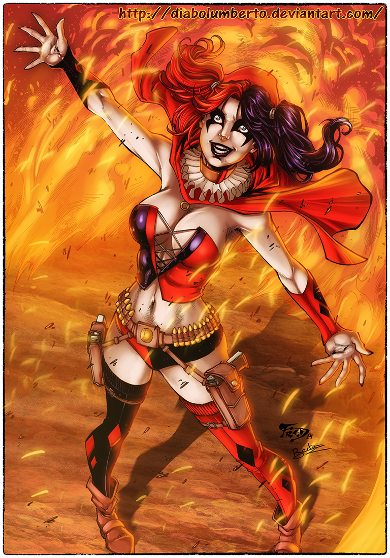 Harley Quinn by diabolumberto on DeviantArt