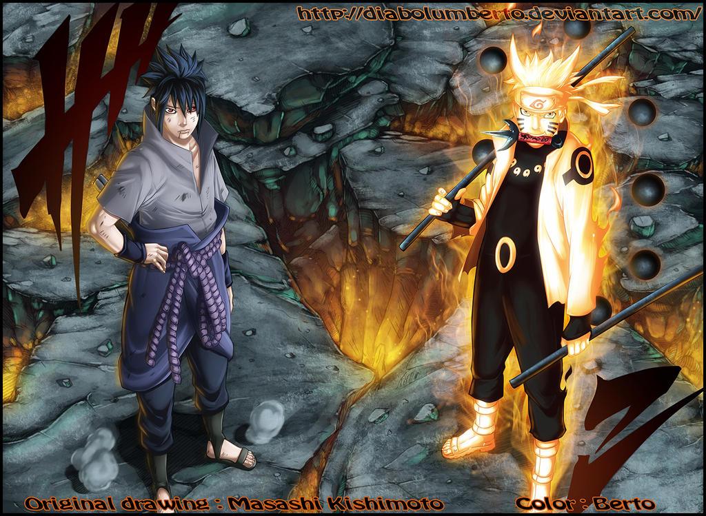 Naruto - Sasuke : We will defeat you together by diabolumberto