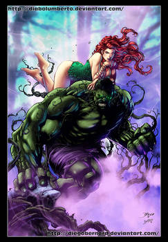 Hulk and poison Ivy