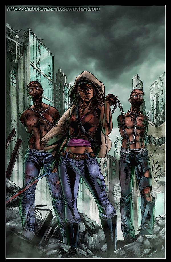 Michonne by diabolumberto