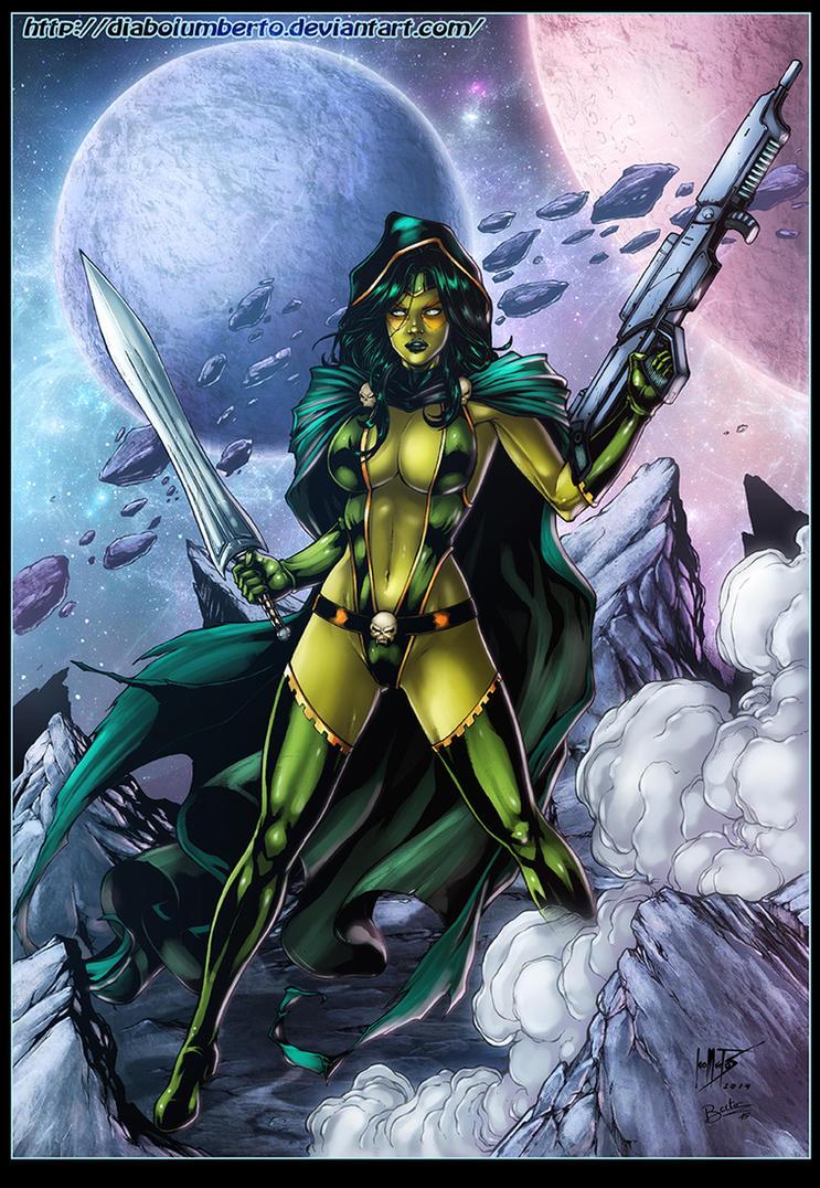 Gamora by diabolumberto