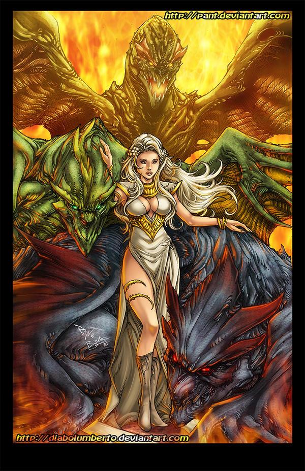 Daenerys - Game of thrones by diabolumberto