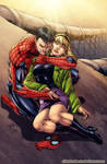 Spiderman and Gwen Stacy
