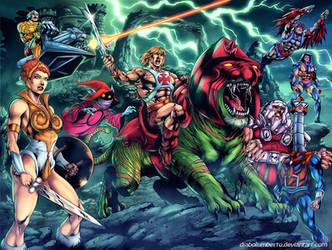 He-man by diabolumberto