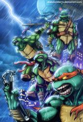 TNMT Turtle Power by diabolumberto