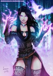 Yennefer - The Witcher 3 - by diabolumberto