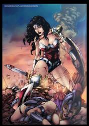 Wonder Woman by diabolumberto