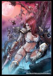 Red Sonja by diabolumberto