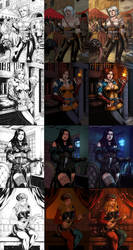 The Witcher III : Girls