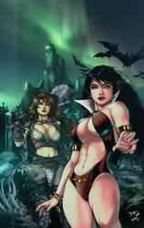 Vampirella - Red Sonja