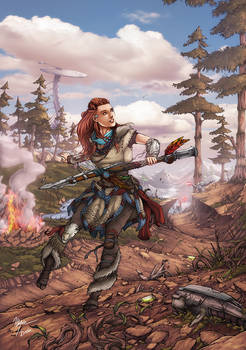 Aloy - Horizon Zero Dawn -