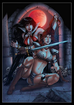 Vampirella x Red Sonja