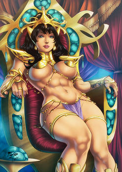 Dejah Thoris + video process