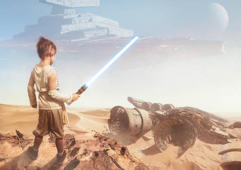 Star Wars video process