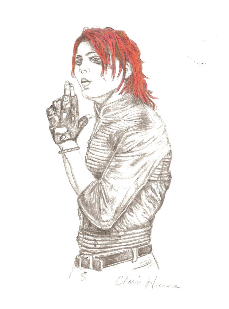 gerard way my chemical romance by hmbhaines