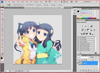 Sisters Wallpaper - InProgress by Yozuru