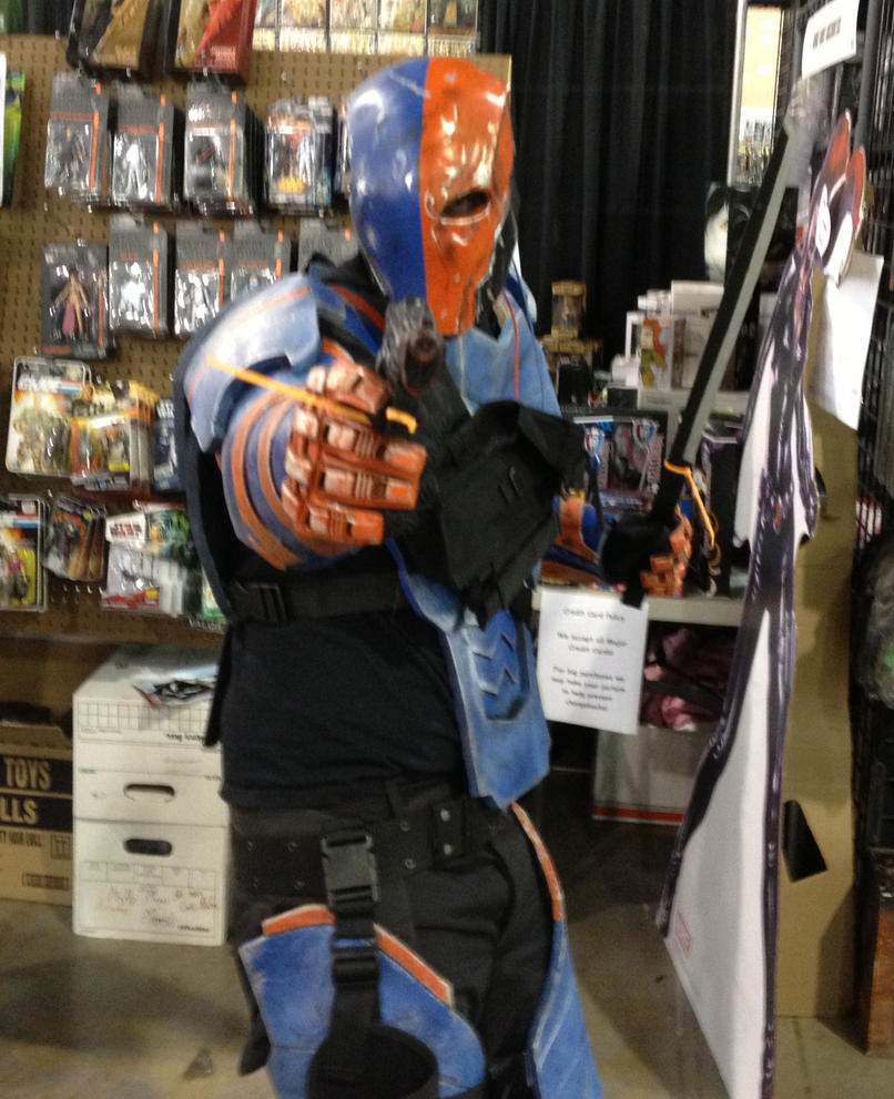 how to make a deathstroke cosplay