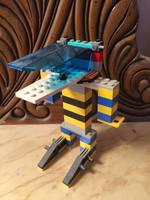LEGO Agnes Steeltrap (mouth open) by horrorshowfreak