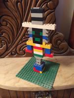 LEGO Officer Bombshell by horrorshowfreak