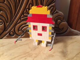 LEGO 48 Smith Avenue by horrorshowfreak