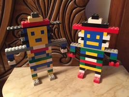 LEGO Triceps N' Biceps by horrorshowfreak