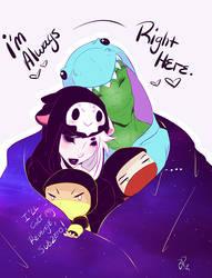 Snuggle Buddies by BoneziProxy