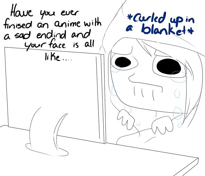Watchin Them Sad Anime Movie Things