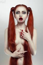Bleeding Beauty: Hunger by FlexDreams
