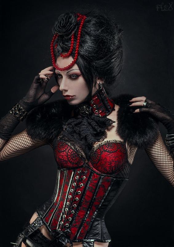 Lady Vampiria by FlexDreams