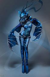 Blue Dragon I by FlexDreams
