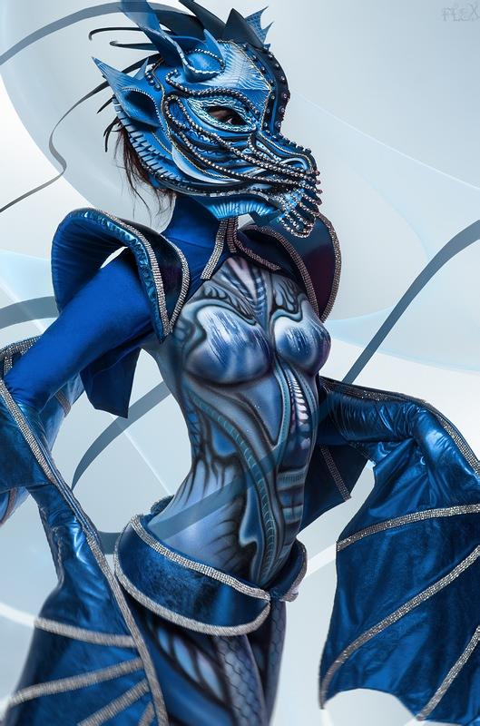 Blue Dragon II by FlexDreams