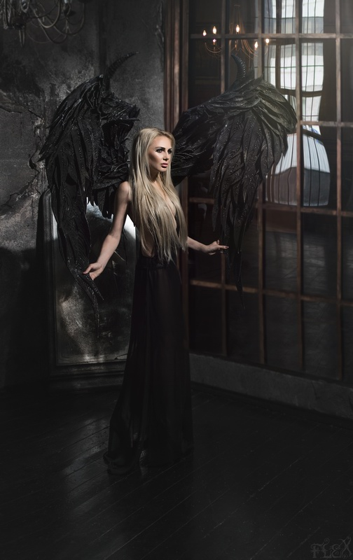 Black Angel Maria by FlexDreams