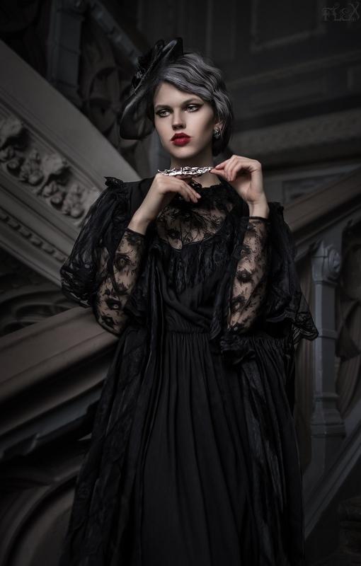 Old Vampire Margo II by FlexDreams