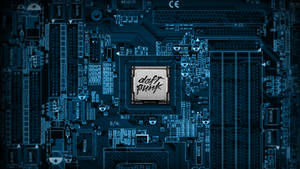 Daft Punk Motherboard Wallpaper