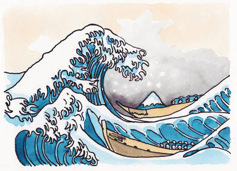 The Shitty Great Wave