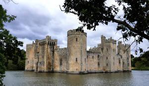 Bodiam Castle, Sussex, UK