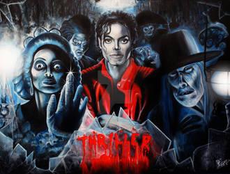 Michael Jackson's THRILLER by BenjaminART