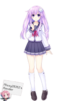Nepgear Render by nursemorrigan