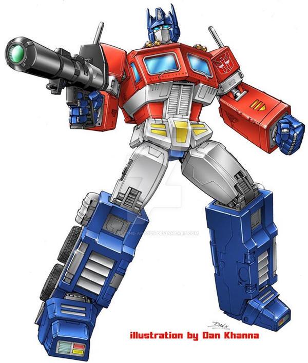 masterpiece optimus prime by dan the artguy on deviantart
