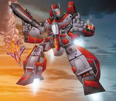 Transformers G-1 Jetfire by Dan-the-artguy