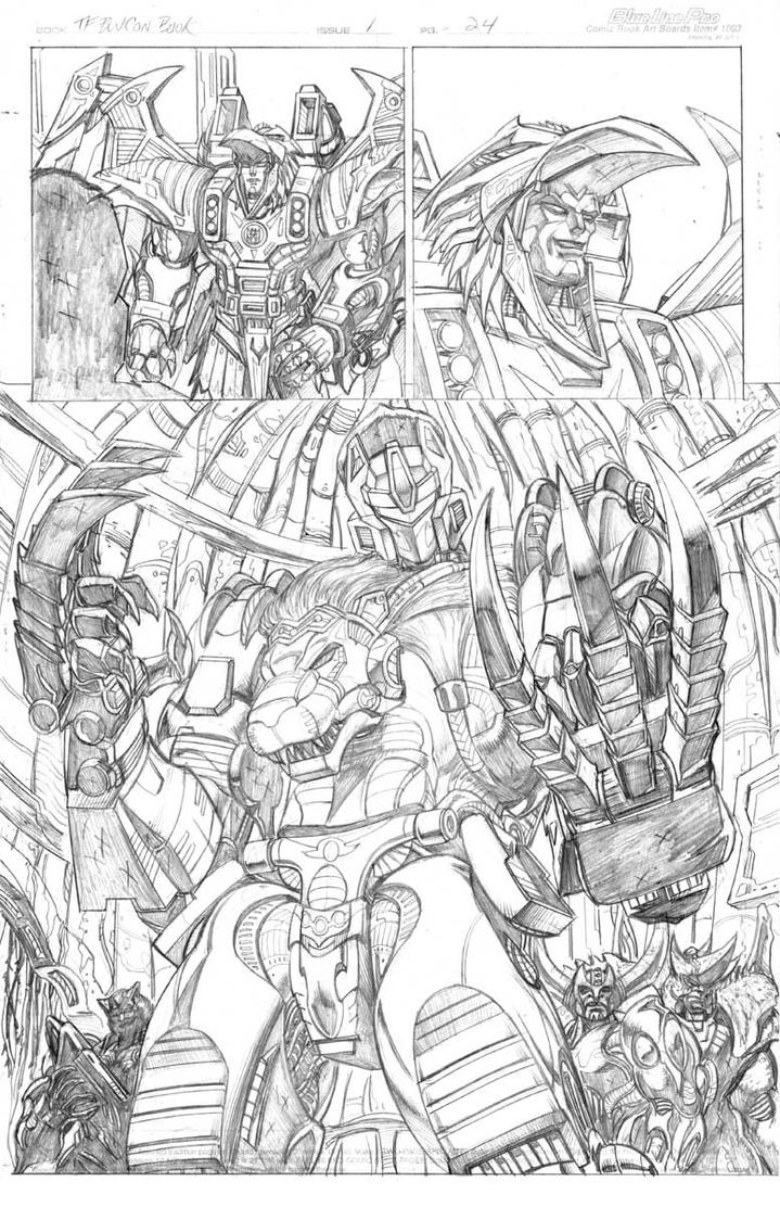 TF Beast Wars 'Con book pg 24 by Dan-the-artguy