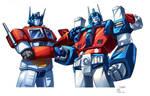 Optimus Prime and Ultra magnus