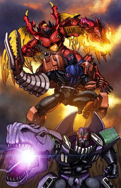 All Hail Beast Wars Megatron by Dan-the-artguy