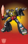MP Grimlock with grid
