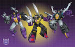 G-1 Insecticons groupshot