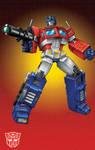 Masterpiece Optimus Prime grid